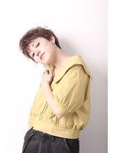 髪質改善ヘアエステサロン レラシオン 亀有(Relacion)無造作ショート【Relacion亀有】
