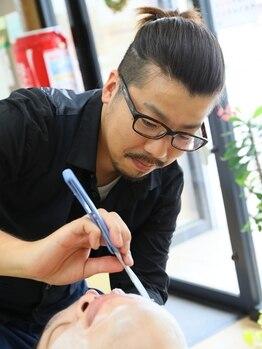 ヘアーサロン ジャック 谷塚店(JACK)の写真/おしゃれヒゲスタイルをご提案*眉カットはサービス致します!!スーツにもカジュアルにも合うスタイルを。