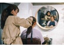 ヘアセット シャンプーアンドスパ専門店 ウルー(Uruu)の雰囲気(ヘアセットを日常に―…。)