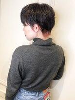 【morio下通】耳かけマニッシュショート