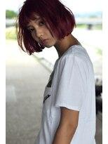 レーヌ(reine)#red#pink#____#bob