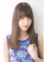ユーフォリアギンザ(Euphoria GINZA)【Euphoria GINZA】清涼感のあるツヤ髪セミロング☆担当畑