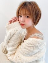 アグ ヘアー フェール 鳳駅前店(Agu hair faire)《Agu hair》.愛され抜け感ショート