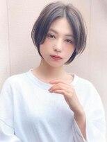 《Agu hair》柔らか☆頬バングショート