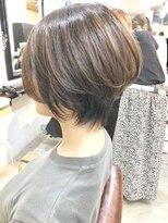 エトネ ヘアーサロン 仙台駅前(eTONe hair salon)【 eTONe】くびれショートスタイル