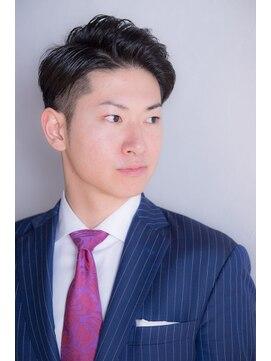 タイコーカン(TAIKOKAN Men's Hair Salon)【TAIKOKAN】ビジカジ×フォーマルツーブロック