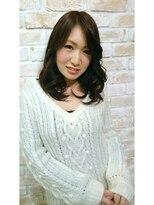 パーフェクトビューティーイチリュウエスエス(perfect beauty ichiryu SS)ゆるカールの大人セミディ
