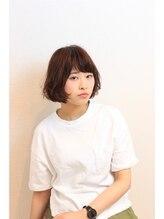 ヘアーモードケーティー 石橋店(Hair Mode KT)ボブ×イルミナコーラル×ボリュームアップカラー