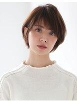 ヘアー ミッション 心斎橋店(hair Mission)キレイな大人女性のひし形小顔ショートボブ