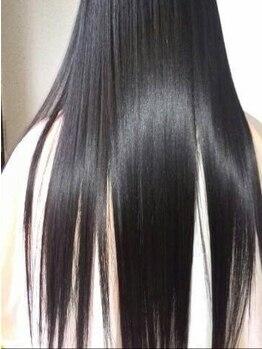 """ストロボヘアー(Stro Bo hair)の写真/あなたのクセ髪や悩みは【エナジーストレート★】が変える!驚く程潤った憧れの""""サラ艶美髪""""が手に入る♪"""