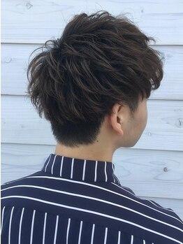 カフ ヘアー(caph hair)の写真/《一宮》男性にも過ごしやすい落ち着いた雰囲気◎清潔感のあるヘアスタイルで周りと差をつける!!