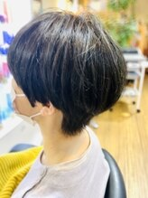 ヘアメイクソラ(Hair make SORA)きのこマッシュショート