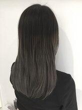 ルフ ヘアーデザイン(ruf hair design)【ruf hair design】グラデーショングレージュ セミロング