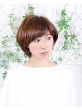 オーガニックサロン フェイス 梅田店(organic salon face)大人可愛いマッシュヘア