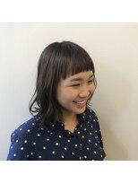 レックス コル(REX COR)ラウンド/前髪/可愛い