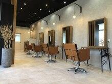 アグ ヘアー エスタ 浜大津店(Agu hair esta)の雰囲気(こだわり抜かれた空間で、贅沢なサロンtime。※写真はイメージ。)
