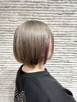 ビス リアン 川口店(Vis lien)インナーカラー/イヤリングカラー/イルミナカラー/小顔/ピンク