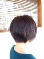 ヘアーサロン セプト(Hair Salon Sept)前下がりショート