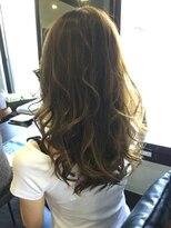 レザボア ヘアーアンドビューティー ハイブ店(reservoir Hair&Beauty Haibe)無造作ウェーブ