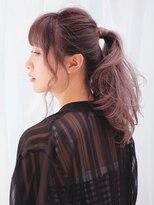 ピークアブー 原宿(PEEK A BOO)【PEEK-A-BOO】夏のヘアアレンジ×透明感カラー 一番合戦麻衣