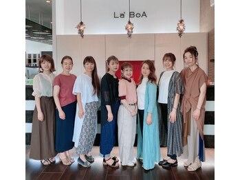 """ラボア(La'BOA)の写真/《女性スタイリストだけのLa'BOA空間》女性目線であなたの個性を生かしながら""""褒められStyle""""をご提案!!"""