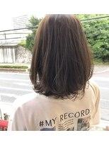 モイヘアーデザイン(moi hair design)透け感カラー