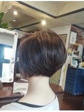 ティンク Hair Tinkこだわりショートスタイル