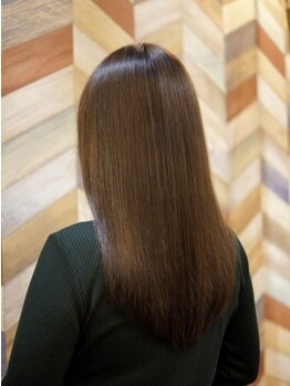 エールセット(eile set)の写真/【ノーベル賞受賞】TOKIOトリートメント導入店!矯正なしでも実感…指通り良くまとまる髪にリピーター多数◎
