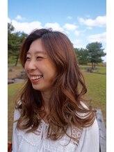 美容室ハナコ 外旭川店(Hanako)優しく揺れる、ふわふわパーマ