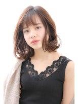ミーツ meets+【meets】素肌が白く見える透明感カラー&小顔カット