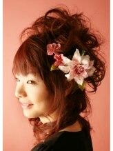 ヘアーメイクスタジオ ティアーズ(hair make studio tears)愛されハーフアップ