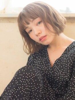 アドラーブル 駅南店(adorable)の写真/女性からも褒められる小顔カラーデザイン☆絶対的テクニックでトレンドカラーも艶カラーも上質な仕上がり♪
