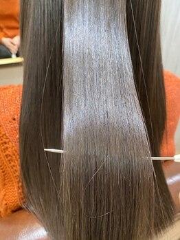 カモン(CAMON)の写真/[酸熱トリートメント/コアミートリートメント/ハホニコ]柔らか質感、健康的な美髪でワンランク上の女性に◇
