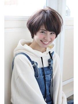 アンアミ オモテサンドウ(Un ami omotesando)【Un ami】《増永剛大》新垣結衣風、人気のふんわりショートボブ