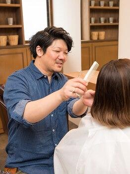 美容室アイイロの写真/《2018年6月NEW OPEN》経験豊富なスタイリストがモチ・収まりの良いスタイルにカット◆カット¥4750→¥3750