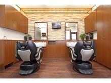 ヘアーサロン シュガー(Hair Salon SUGAR)の雰囲気(石畳レンガが広がりリラックスした気分になり施術できます。)