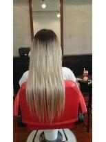 ヘアーワークス バレル(HAIR WORKS Barrel)なりたい髪型をエクステで♪