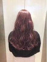 ヘアサロン ドット トウキョウ カラー 町田店(hair salon dot. tokyo color)【raspberry pink10】ダブルカラーカラーリスト田中【町田】