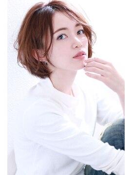 マリア(Maria by afloat)【重山】アシメショートヴェールウェーブブルージュ♪30代40代◎
