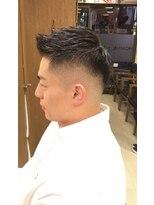 オムヘアーフォー(HOMME HAIR 4)黒髪爽やかフェード HOMMEHAIR4