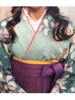 エンヘアー(en hair)卒業式の袴◎