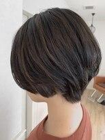 ヘアーサロン リアン 熊谷2号店(hair salon Rien)ショート×コントラストハイライト