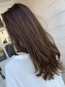 カフ ヘアー(caph hair)の写真/《一宮》ヘアスタイルからカラーリングまで一人ひとりの髪に合わせて提案!!美髪を長く続けるヘアケアも◎