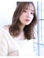ボヌール 西梅田店(Bonheur)【女性stylist杉崎】ふんわりミディアムレイヤー