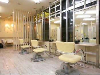 """ハーフバックス 多摩境店(HAIR STUDIO HALF BACKS×1/2)の写真/新規◆カット+カラー+TR¥6250♪☆プチプラであなたの""""なりたい""""を叶えます♪アットホームな雰囲気が◎"""
