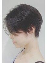 ゴッサムヘアー(Gotham Hair)シースルーバングショート