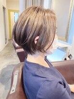 ボニークチュール(BONNY COUTURE)40代・大人のボブスタイル・オシャレな白髪染め・神戸美容室