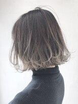 アルバム シブヤ(ALBUM SHIBUYA)グラデーションボブ_くびれミディイヤリングカラー_ba120262