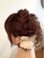 ドゥーシェ ヘア(Dusche hair)編み込みアレンジ