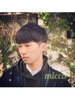ミッカ(micca)【micca下北沢】スタイリング簡単/ツーブロッククラウドマッシュ